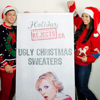 The Christmas Sweater Store is looking for employees!