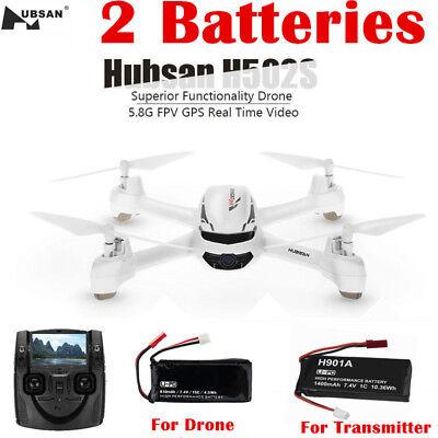 Drone Hubsan X4 H502S 5.8G FPV RC Quadcopter 720P Headless Altitude GPS RTH RTF