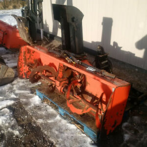 Kubota Front Mount Snowblower