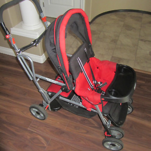Joovy Sit and Stand double stroller