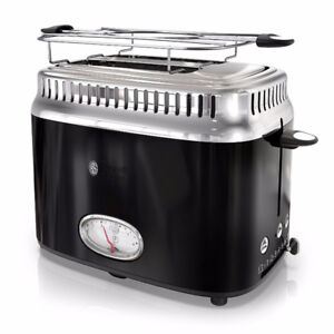 Russell Hobbs retro toaster with warming rack
