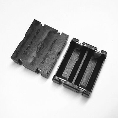 2 PCS Battery Holder Case Box Clip For 2 X  CR123A 16340 Lithium Battery