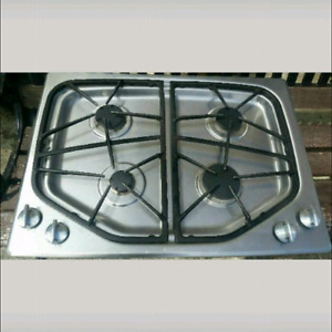 Jennair stainless cooktop