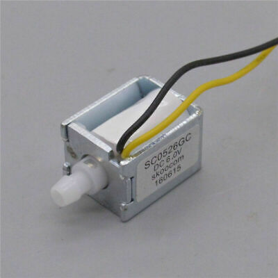 Dc 5v 6v Small Mini Electric Solenoid Valve Normally Closed Micro Air Gas Valve