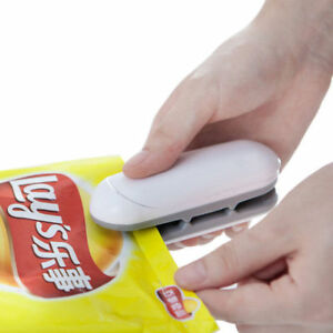 Chip Bag Resealer Portable Mini Package Air Tight Re Sealer Snack Seal Heat