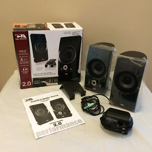 Cyber Acoustics Speaker System - CA-2022 - Almost New!