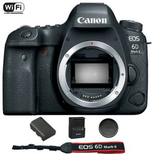Brand New Canon EOS 6D Mark II Digital SLR Camera (Body)
