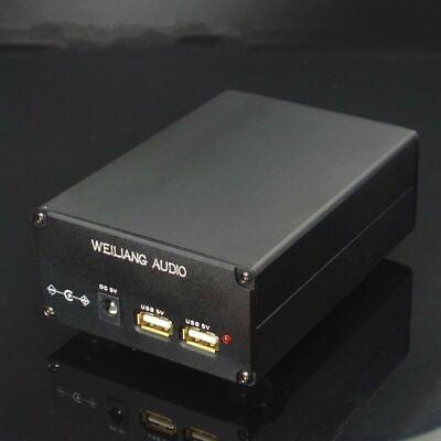 15w Linear Power Supply Dc Voltage Regulator For Cas Xmos Raspberry Dual Usb 5v