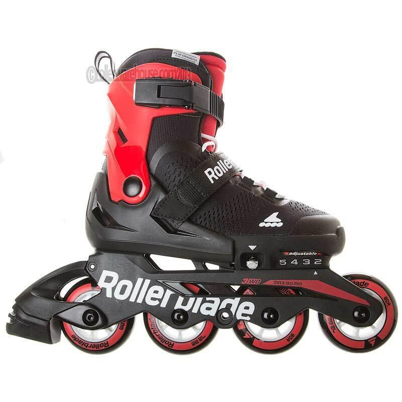 microblade 72mm kids recreational inline skate adjustable