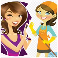 Exchange between esthetics services and cleaning services!