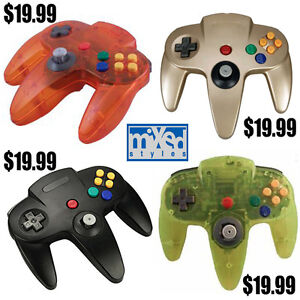 NINTENDO 64 CONTROLLERS $19.99 MIXED STYLES 905-984-4442
