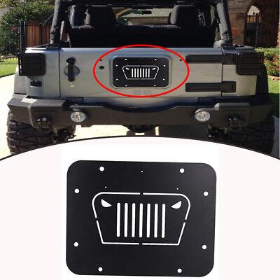 Tailgate Spare Tire Delete Plate for 2007 2008 2009-2016 Jeep Wrangler JK JKU