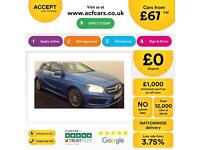 Mercedes-Benz A200 AMG Sport FROM £67 PER WEEK!