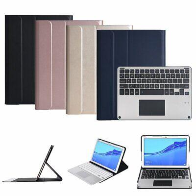 Touch Folio (Wireless Bluetooth Tastatur Folio Case + Touchpad Fr Huawei MediaPad M5 Pro 10.8)