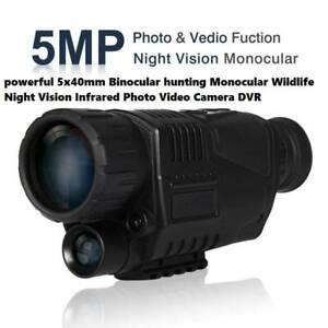 powerful 5x40mm Binocular hunting Monocular Wildlife Night Vision Doveton Casey Area Preview