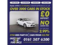 Ford Focus Titanium Hatchback 1.0 Manual Petrol LOW RATE FINANCE AVAILABLE