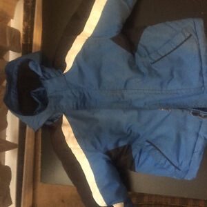 Boys blue coat with lighter (spring) jacket inside!!!