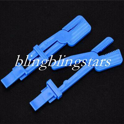 10 Pcs Dental Plastic X-ray Snap Film Clamp R Clip Supply Adiograph Holder Optio