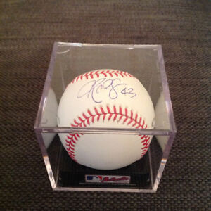 Toronto Blue Jays R.A Dickey signed official MLB Baseball