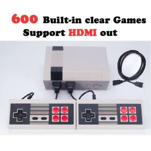 Retro NES Classic arcade game Console with HDMI OUT 600 Game built in replica