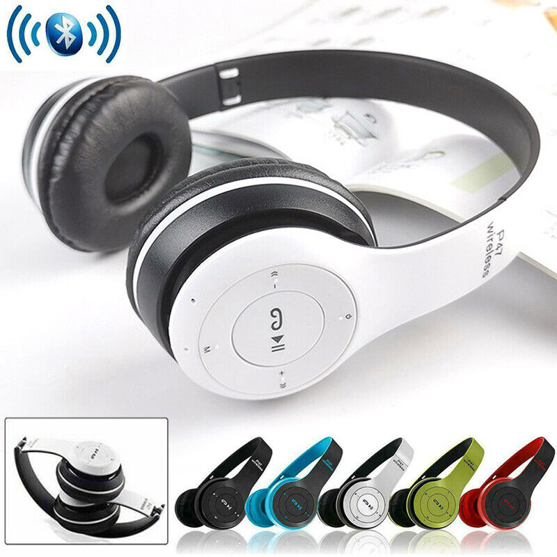 Wireless Bluetooth Headphones Foldable Stereo Earphones Headsets With Microphone