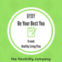 Be Your Best You Healthy Living Plan