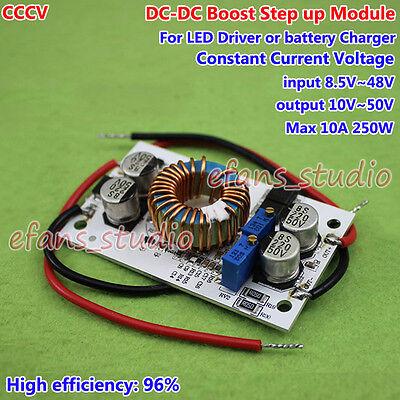 Dc Boost Step-up Converter Constant Current 12v 24v 36v 48v Led Battery Charger