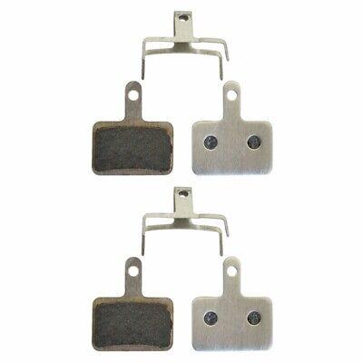 2 Pares de Pastillas de Freno para Shimano B01S M515 M515-la M515-La-M...