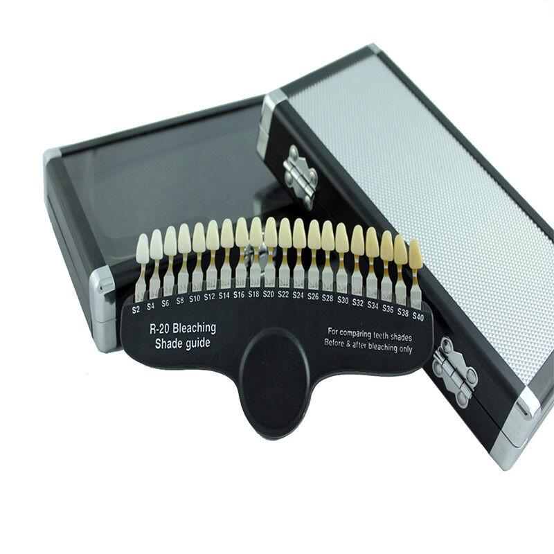 EZGO 3D R-20 Professional Dental Teeth Whitening Shade Guide
