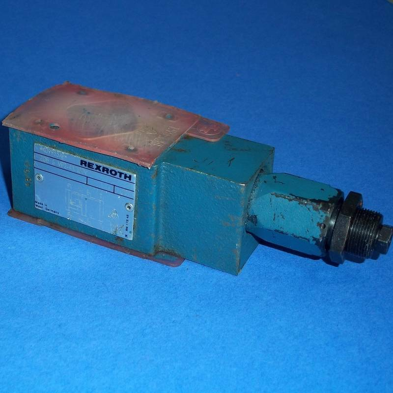 REXROTH 100 BAR NOMINAL SIZE 6 PRESSURE RELIEF VALVE, ZDB-6-VP2-41/100V