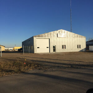 Bonnyville, AB. Commercial Shop & Yard for Rent