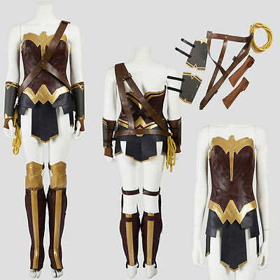 New Batman v Superman Dawn of Justice League Wonder Woman Cosplay Costume Suit  - Batman V Superman Suit