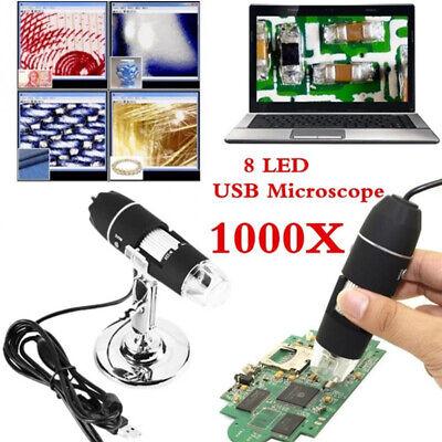 8 Led 1000x Usb Digital Microscope Endoscope Magnifier Pc Camera Fehexathlwik0