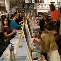 WIN Sip & Paint 2 hour painting session
