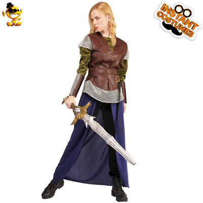 Womens Cool Warrior Fancy Dress Costume For Halloween Party](Cool Women Halloween Costumes)