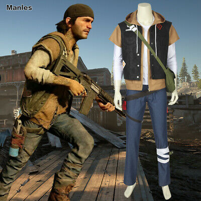 Days Gone Costume Deacon St.John Cosplay Comic Con Outfits Game Props Full - Comic Con Outfits