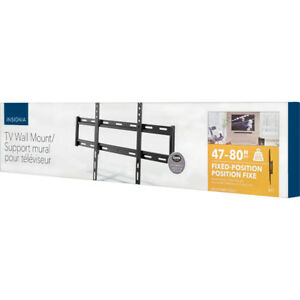 """Brand New Insignia 47"""" - 80"""" Fixed TV Wall Mount"""