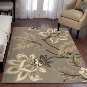 "7'10"" x 10'10"" beige, cream, brown area rug - new in packaging"