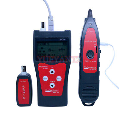 Lan Tester RJ45 LCD Cable Tester Network Monitoring Wire Tracker Without Noise - Lcd Network Monitor