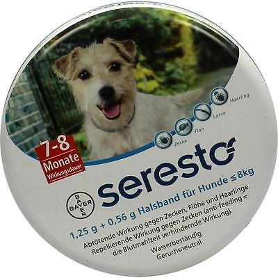 SERESTO Halsband für kleine Hunde bis 8 kg 1 st PZN 9315509