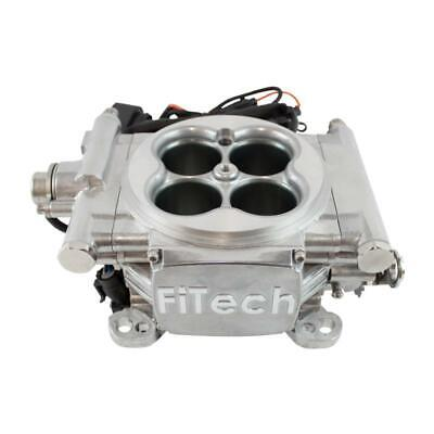 FiTech Fuel Injection System 30001; Go EFI 4 650 HP TBI Bright