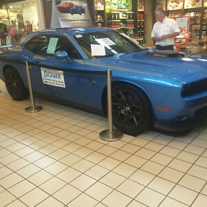 2016 Dodge Challenger Scat pack Coupe (2 door)
