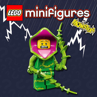 LEGO Minifigures #71010 - Halloween / Monsters - Plant Monster - NEW / Sealed