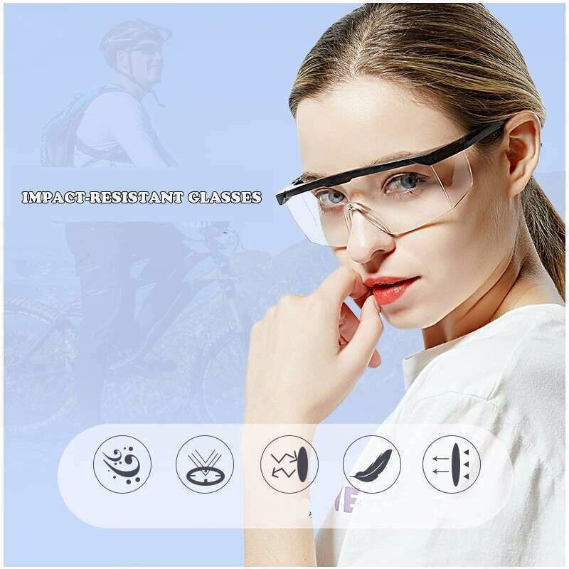 Anti Virus Safety Work Goggles Splash-Proof Glasses Eye Shield Protection