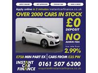 Peugeot 108 1.2 PureTech ( 82bhp ) TOP! 2016MY Allure FROM £45 PER WEEK