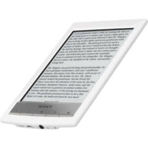 Sony eReader with WiFi - White