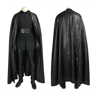 Jedi Halloween Costume For Adults (Star Wars Jedi Kylo Ren Cosplay Costume Any Size for Halloween Adult)