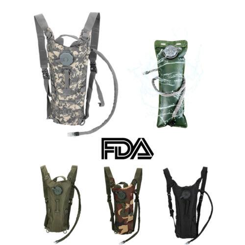 Hydration Pack + 3L Water Bladder Bag Camelbak Backpack Hiki