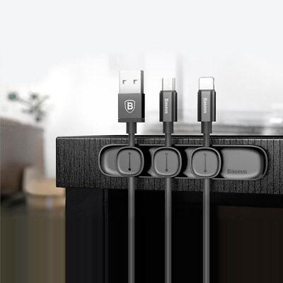 Organizador De Cables Cable USB Con 3 Magnético, Disposición Cable Nuevo