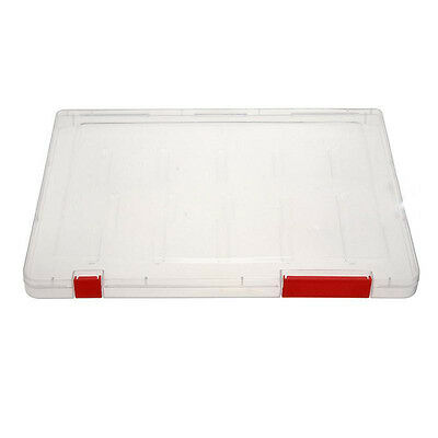 A4 Files Plastic Document Case Storage Box Holder Paper Office School X3v8
